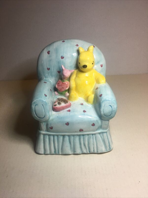 Vintage Winnie the Pooh And Piglet piggy bank