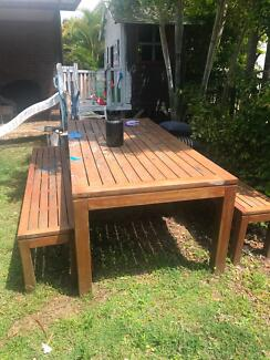 Outdoor Timber Table Part 57