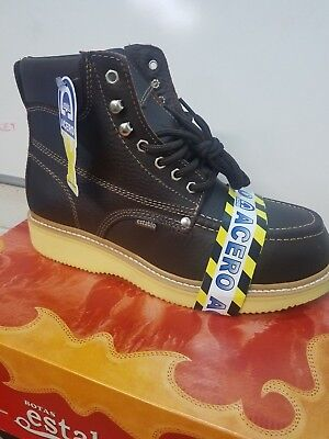 Establo Boots  work & safety  Color Shebron bull fight with steel toe