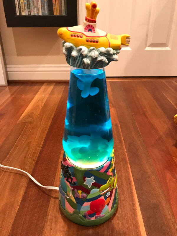 Vintage Beatles Yellow Submarine Lava Lamp - Used, but in great condition!