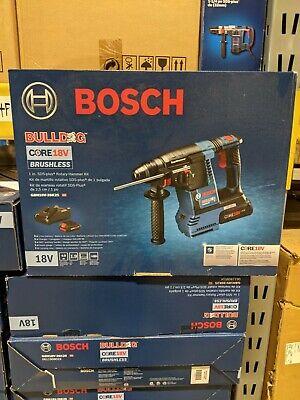 Bosch Gbh18v-26k25 18v Brushless Sds-plus Bulldog 1 In. Rotary Hammer Kit