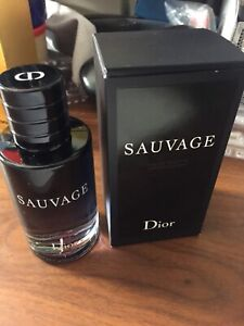 Men's cologne sauvage Dior never used 100ml