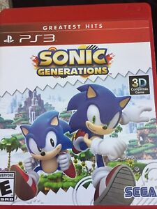 PS3 Sonic Generations Greatest Hits