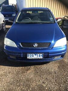 2002 Holden Astra Hatchback reg&rwc $2200 Hoppers Crossing Wyndham Area Preview