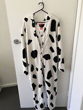 ADULT COW ONESIE - SIZE L Henley Beach Charles Sturt Area Preview