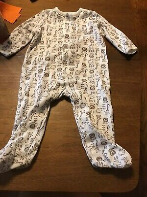 Little Me Brand Newborn Footed Sleeper, Yellow Ducky print unisex  Yellow Footed Sleeper