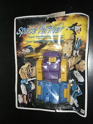 VINTAGE 90'S TRANSFORMER SPACE FORMER SUPER GALAXY TANK MOC