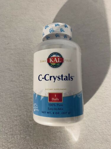 KAL ~ C-Crystals ~ 1 Daily ~ 8 oz ~ Exp 10/22