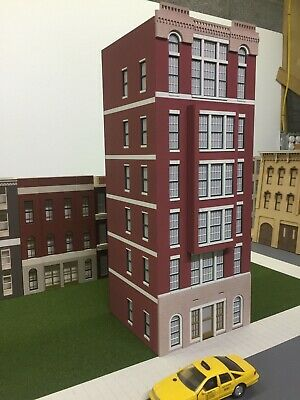 Used, O Scale Layout Building Cameron Apartments 6-Story Lit, CS-01-6030-BAY-WL-B2 for sale  Shipping to Canada
