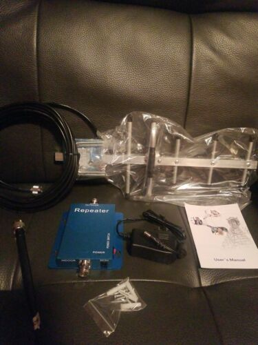PHONETONE PTE-C980D CELL PHONE SIGNAL BOOSTER 850MHz W WHIP/