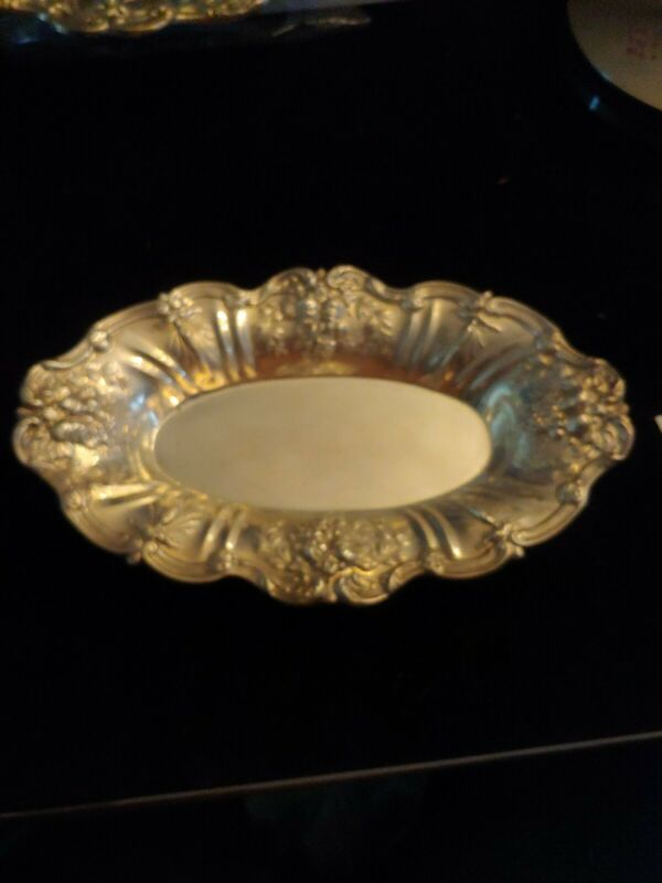 """Francis 1 Reed & Barton  Sterling Bowl/Bread Tray stamped x554.  11.75"""""""