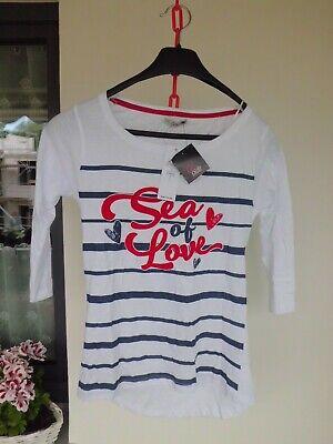 Neues T- Shirt von Inside in Größe M und weiß-blau - Sea of Love ()