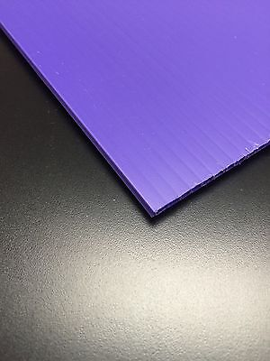 4mm Purple 18 X 12 10 Pack Corrugated Plastic Coroplast Sheets Sign