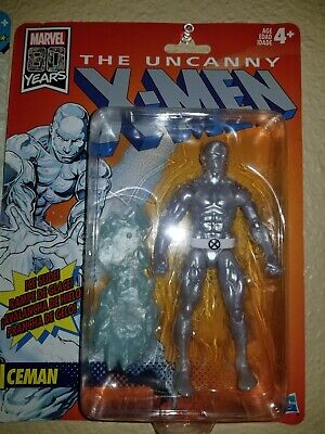 Marvel Legends UNCANNY X-MEN ICEMAN  Retro Wave  Figure 2019