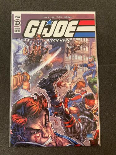 GI Joe A Real American Hero #281 B Variant *1st Sherlock* (2021) NM IDW Comics