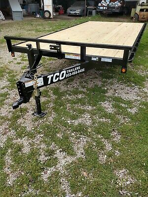 New 2019 - 84x16 Atv Utility Deckover Trailer Haul Quad Motorcycle 4500 Gvwr