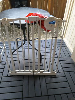 PAIR OF CHILD/TODDLER SAFETY GATES WITH EXTENSIONS