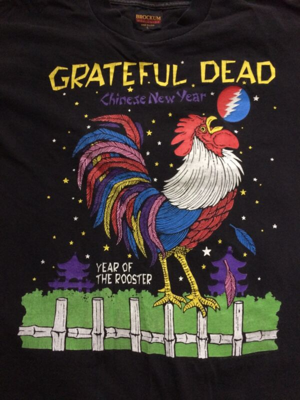 Grateful Dead vintage year of the rooster t-shirt