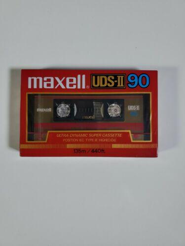 Maxell UDS-II 90 High Bias CrO2 Chromium Cassette Tape Seale