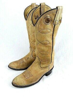 ACME Cowboy Boot Womens 7.5 WESTERN Tall BUCKAROO Rodeo Rockabilly USA VINTAGE