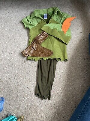 Disney Peter Pan Costume Dress Up Age 4
