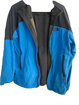 mens north face jacket large blue