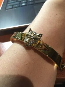 Juicy Couture Gold Lion Bracelet