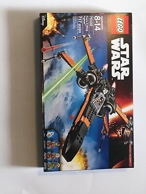 Lego Star Wars 75102 Poe's X-wing Fighter w/ Poe Dameron & BB-8 Minifigures NEW