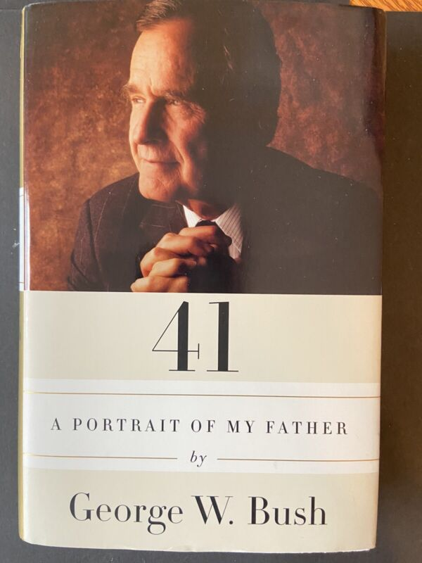 George Bush Hand Signed Book