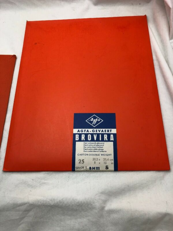 Agfa-Photographic Paper Lot