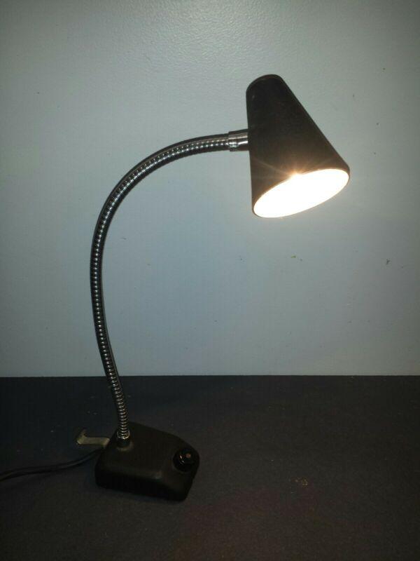 Vintage Roxter Lamp # 6490 Magnetic Base Workshop Machinist Industrial Tested