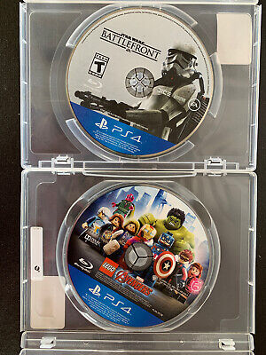 LEGO Marvel Avengers And Starwars Battlefront Sony PlayStation 4 PS4 Disc Only
