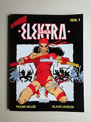 DAREDEVIL  Bd. 1: ELEKTRA-SAGA (1), SC, Feest, Frank Miller, Superhelden   KÖ9