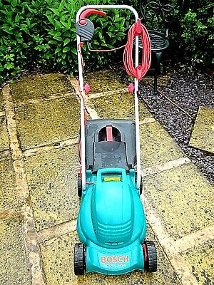 Used Bosch Rotak 320C Electric Lawnmower 32cm Cut 1000 watt Motor -  Best Here!!