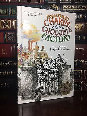 Charlie And The Chocolate Factory New Illustrated Hardcover Collectors Edition