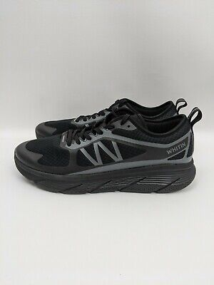 Whitin Men Cushioned Road Running Shoe Size 13 47 Lightweight Breathable Black
