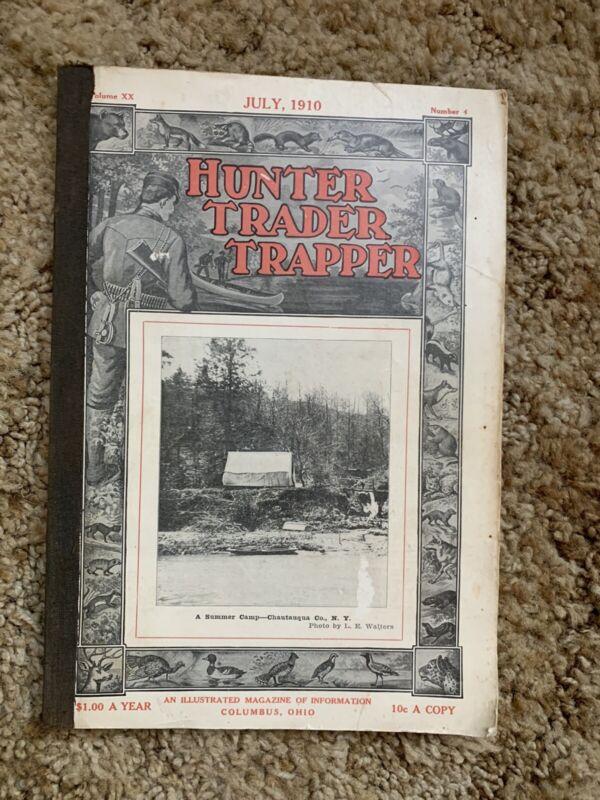 Hunter Trader Trapper. Magazine. July, 1910