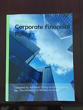 Corporate Financial Policy FINA2222 For UWA 2015 Ed. Peppermint Grove Cottesloe Area Preview