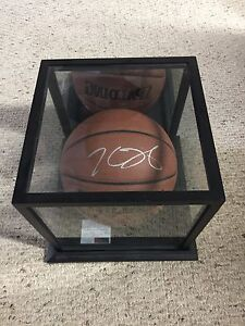 KEVIN DURANT SIGNED BALL WITH COA