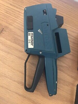 Garvey Contact Model 18-6 1 Line Price Labeler Gun Used Tested