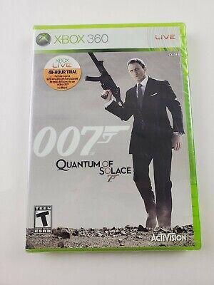 James Bond 007: Quantum of Solace (Microsoft Xbox 360, 2008) NEW