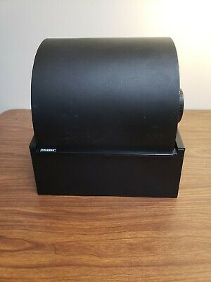 Rolodex Model 2400t Metal Rotary Black Twin Rollers Index Card File Wcards