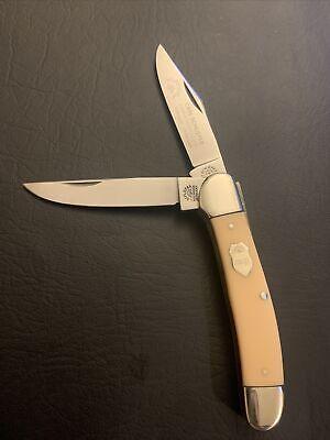 VINTAGE Eye Brand Knife Carl Schlieper Solingen GERMANY Copperhead Knife GXY (2
