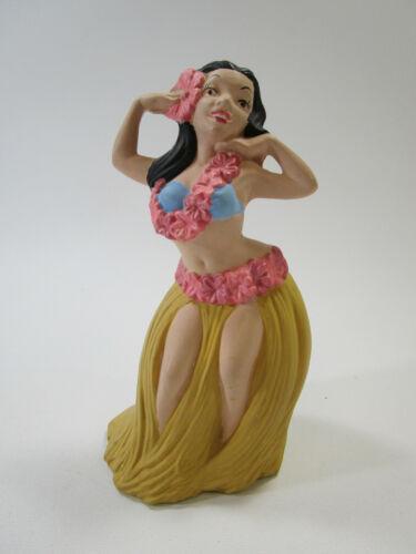 vintage Atlantic mold ceramics hula girl Hawaiian figure tiki décor statue Miko