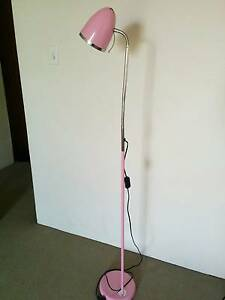 PINK 1.5m, Metal Goose Neck Floor Lamp, 60W, Westmead Parramatta Area Preview