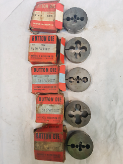 Dies in original boxs.great for engineering collectors