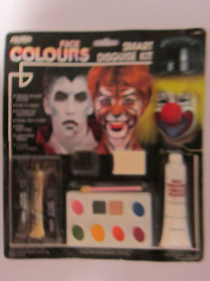 Hallowee Professional Assort Face Paint Disguise Kit Blood Glitter Easy - Face Painting Easy Halloween