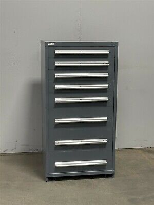 Used Stanley Vidmar 8 Drawer Cabinet Industrial Tool Storage 2396 Lista