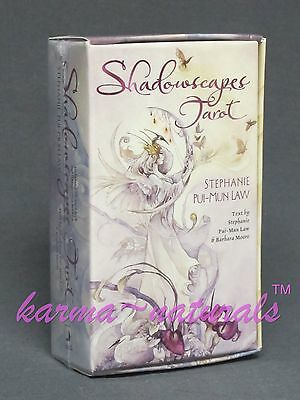 SHADOWSCAPES Tarot Card Deck by Pui-Mun Law & Moore - NEW Divination