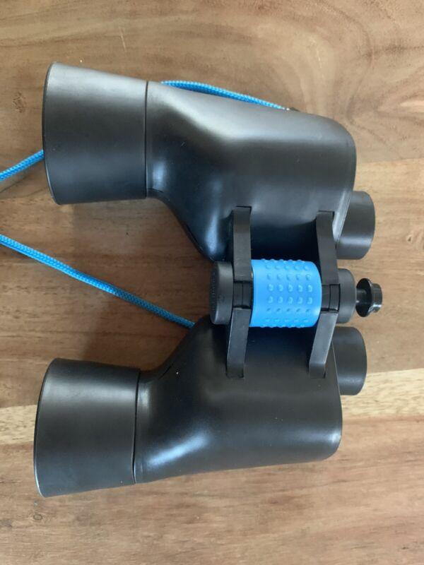 The Sharper Image Black 7x50 Outdoor UV Binoculars Ruby Colored UV Optics NEW